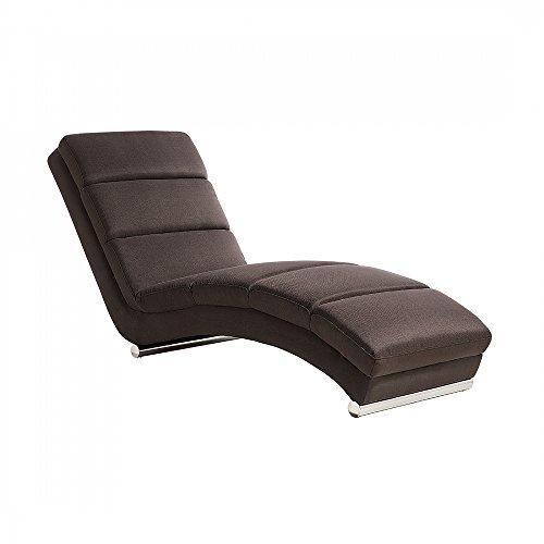 Sofa Braun - Couch - Relaxsessel - Recamiere - Liegestuhl - Relaxliege - LUNULA