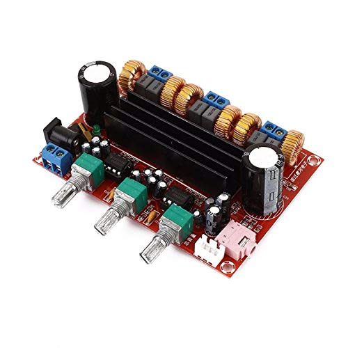 XH-M139 DC12V - DC24V 50W + 50W + 100W 2.1 digitaler dreikanaliger Subwoofer TPA3116D2 Verstärker-Verstärkerplatine D3-005 -