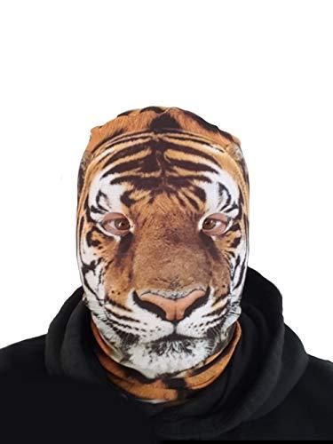 Stinkyface Tiger, Lycra-Kopf, Kostüm, ()