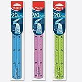 Lineal 20cm unzerbrech- Lich Twist N Flex Maped sortiert