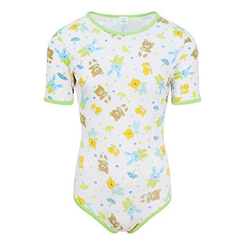 NRU Rainy Dayz Bodysuit Onesie ABDL Adult Baby Diaper Lover - XX-Large