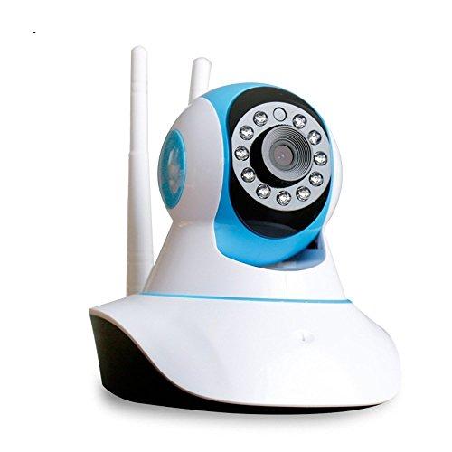 Drahtlose WIFI-Innenüberwachungskamera, HD-Nachtsicht-Haussicherheitskamera, Babyphone, Unterstützung für die mobile Fernüberwachung, Zweiweg-Sprach-Gegensprechanlage, Bewegungserkennung, 1080P