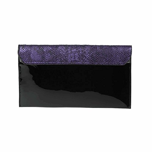 OBC Only-Beautiful-Couture, Poschette giorno donna argento argento ca.: 30x16x3 cm (BxHxT) Lila