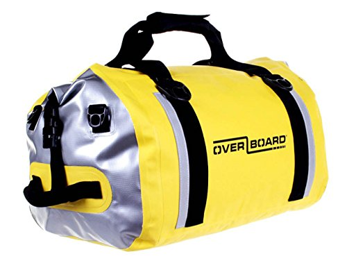 pro-sports Waterproof Duffel 40L Overboard Gelb
