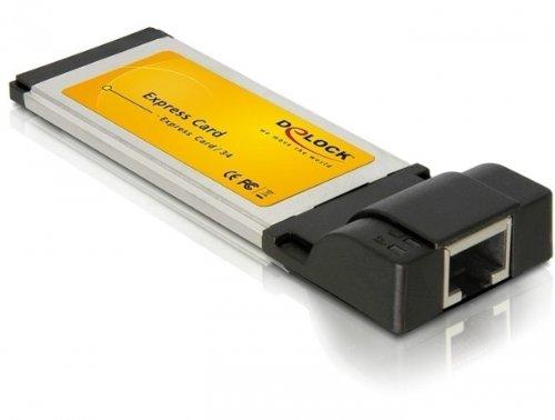 DeLock Express Card Netzwerkkarte Gigabit LAN