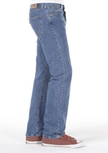 Levi's Herren Jeanshose 501 Original Straight Blau (Medium Stonewash 0841)