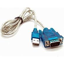 Adaptador de USB a RS232 Puerto Serie compatible con Siemens S7-200 RS