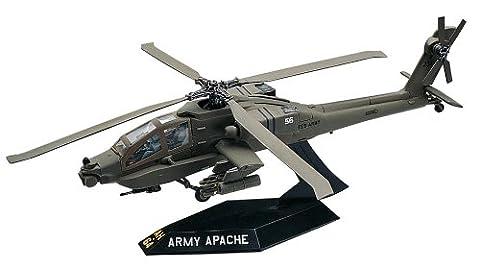 Revell Monogram 1:72 Scale Snaptite Apache Helicopter Model Kit