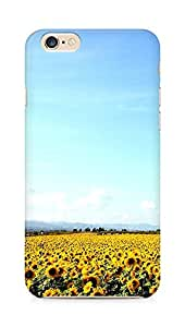 Amez designer printed 3d premium high quality back case cover for Apple iPhone 6 (sunflower garden nature )