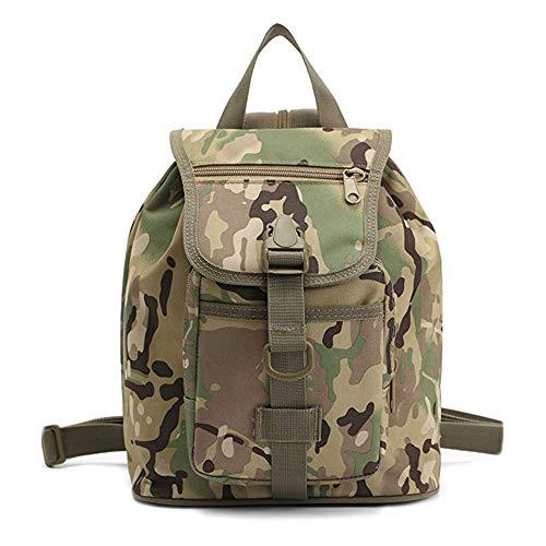 STRIR Backpack Mochilas Escolares para niñas niños Escolar Lona Grande Bolsa Mochila de camuflaje Casual Colegio Bolso Para Chicas (A)