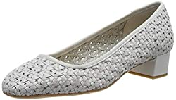 Clarks Damen Orabella Alice Stiefeletten, Grau Light Grey, 39 EU
