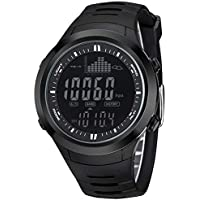 spovan Digital Fishing Barometer Watch Thermometer Altimeter Weather Forecast Brand Wristwatch