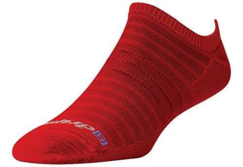 Drymax Hyper Thin Running Red No Show Socks (Dmx-Run-1241), Herren, Torrid Red, Small -