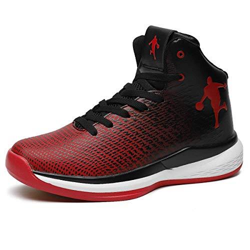 Herren Basketball Schuhe High Top Licht Dämpfung Anti Skid Atmungsaktive Outdoor Frau Kinder Sportschuhe Sneakers