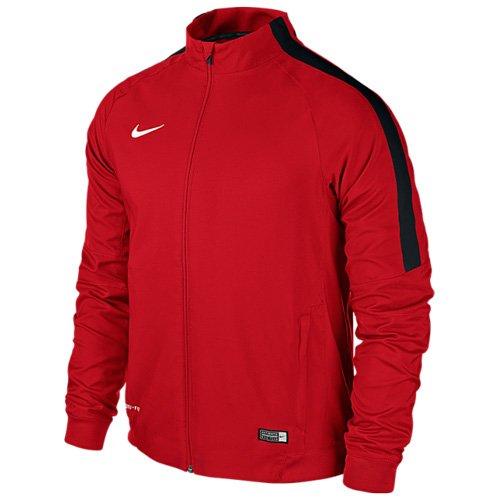 NikeJacke Sideline Woven Squad, Giacca da Allenamento Uomo, Multicolore (Università rosso/bianco/nero), XL