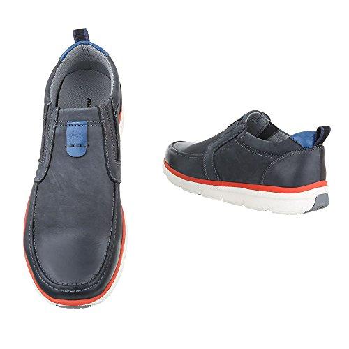Ital-Design - Pantofole Uomo Blau