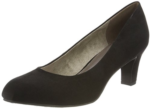 Tamaris Damen 22418 Pumps, Schwarz, 39 EU