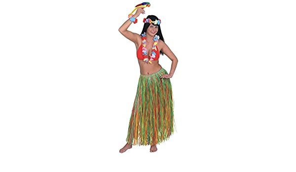 fa5d20ee40 Krause & Sohn Hawaii gonna lunga 90 cm spiaggia colorata: Amazon.it ...