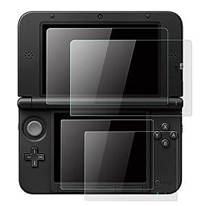 OOTSR (2 Satz) Displayschutzfolie für Nintendo 3DS XL & New 3DS XL, inklusive Glasschutzfolie für oberen Bildschirm…