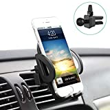Avolare Car Phone Holder, Universial Car Air Vent Mount, Upgraded Version Smartphone Cradle, High Quality Car Phone Stand for Hands Free Driving, Compatible with iPhone SE 7 7 Plus 6s 6 Plus 5s 5 4s 4,Samsung Galaxy S7 S6 S5 Note5,LG Nexus SNOY HTC Motorola and More