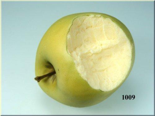 ERRO Lebensmittelattrappe Apfel grün angebissen - Obst Nachbildungen, Attrappen Adams-obst