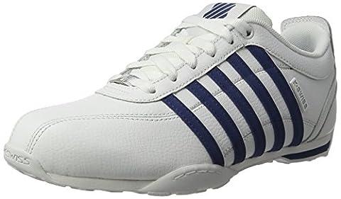 K-Swiss Herren Arvee 1.5 Sneaker, Weiß (White/Ensign Blue), 43 EU