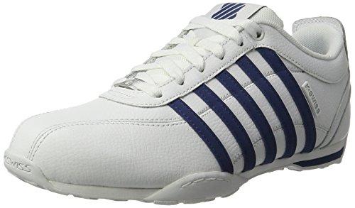 K-Swiss Herren Arvee 1.5 Sneaker, Weiß (White/Ensign Blue), 42 EU