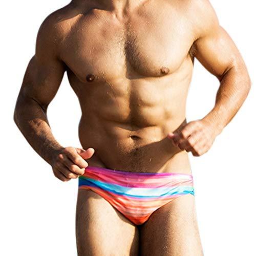 Sylar Slips de natación bañadores Hombre Cortos bañador de natación para Hombre Secado rápido Ropa...