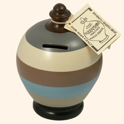 terramundi-autentico-salvadanaio-in-ceramica-a-strisce-crema-grigio-nero-marrone-e-blu-b22