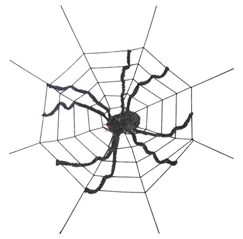 ation Giant Spider on Spider Web ()
