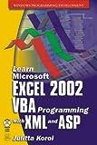 Learn MS Excel 2002 VBA/XML Programming
