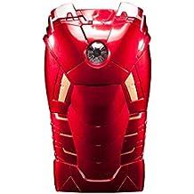 Funda rígida para iPhone 5y 5S, diseño de armadura de Iron Man en 3D, color rojo