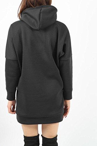 Ladies Girls Heritage Sweat à capuche EUR Taille 34-44 Noir