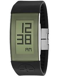 Philip Starck Philippe Starck - Reloj digital de cuarzo para hombre con correa de plástico