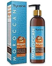 Trycone Moroccan Argan Hair Oil Enrich With Coffee Oil Bio