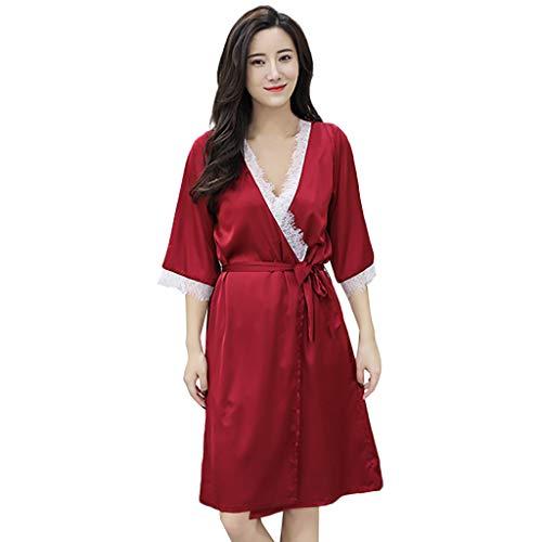 sexy Dentelle Peignoirs de bain femme Rouge Grenouillères femme pyjama combinaison grenouillère pour nuit taille femme adulte adultes kigurumi costume polaire unisexe tenue animal cosplay licorne avec