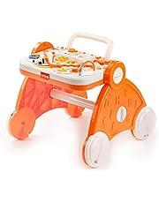 Luvlap Baby Musical Activity Walker (Orange)