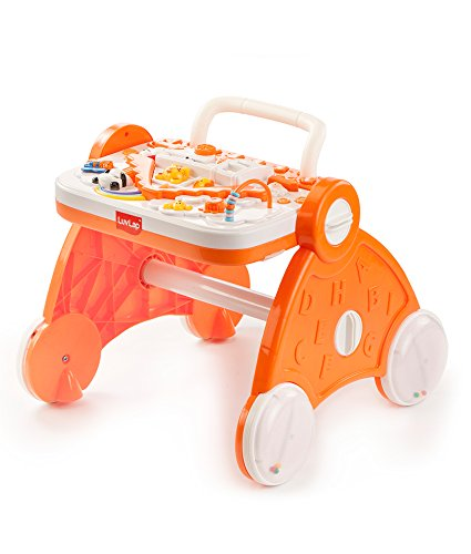 Luvlap Baby Musical Activity Walker (Orange)