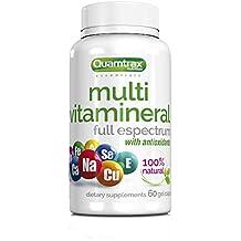 Quamtrax Nutrition Multivitamineral Gel - 60 Cápsulas