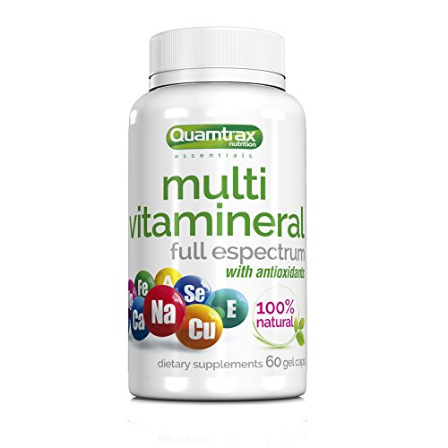 Quamtrax Nutrition Multivitamineral Gel - 60 Cápsulas