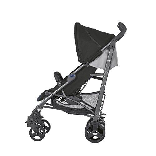 Imagen para Chicco Liteway 3  Silla de paseo ligera y compacta, soporta hasta 22kg, color negro