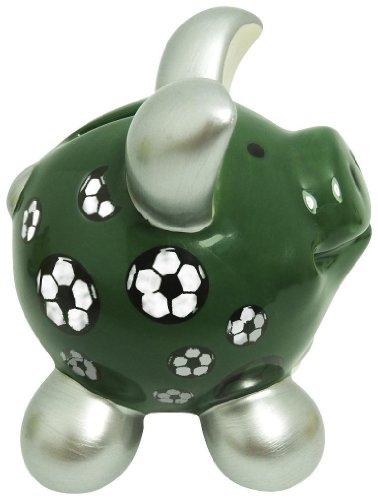 """Swiggie-Sparschwein """"Fußball"""" klein - 7,5x6,5x7cm"""