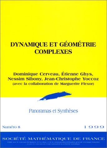 Dynamique et géométrie complexes par Cerveau