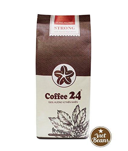 VietBeans Coffee24 STRONG – Hochwertige Kaffeebohnen aus Pleiku – Vietnamesischer Kaffee aus...