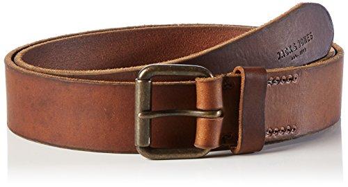 JACK & JONES Herren Gürtel Jjijakob Leather Belt Noos, Braun (Black Coffee), 90 cm (Herstellergröße: 90)