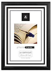 A4 Certificate Photo Frame x 12 Wholesale -BLACK by Unknown