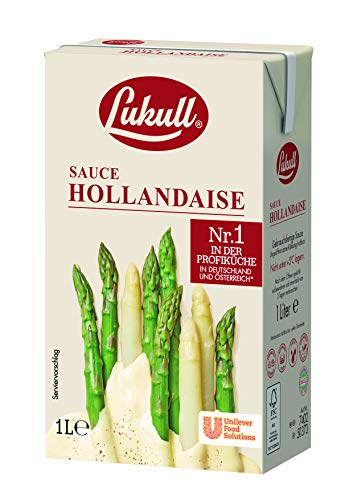 Lukull Sauce Hollandaise (zart, cremig und gelingsicher) 1er Pack (1 x 1l)