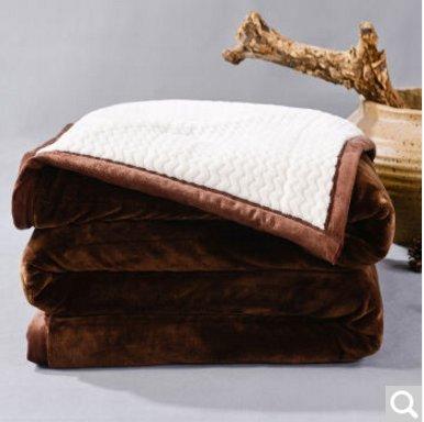 BDUK Doppelseitige Raschel dicke Decke Brutto Hochzeit im Winter warme Decke ,E,200*240cm Reset 10 Catty