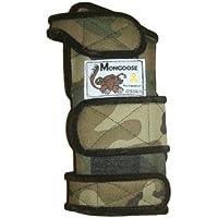 "Mongoose–Protectores de ""ecualizador soporte de banda de muñeca de bolos (mano izquierda, Camo"
