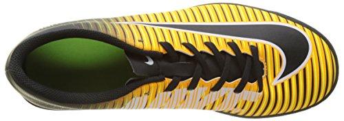 Nike Herren Mercurialx Vortex Iii Tf Fußballschuhe Orange (laser Arancione / Nero / Bianco / Volt / Bianco)